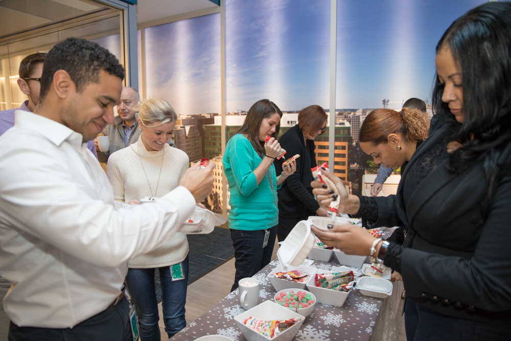 A Winter Themed Experiential Activation with Fannie Mae