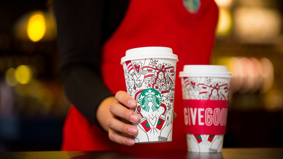 Starbucks Coloring Cups