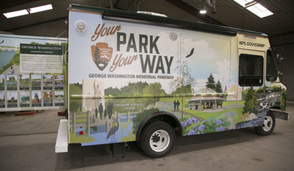 By developing the mobile visitors center, Montage Marketing helped the National Park Service introduce the public to many lesser-known local landmarks