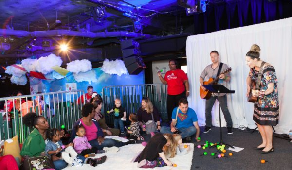 Live, interactive music performances enhanced the experience