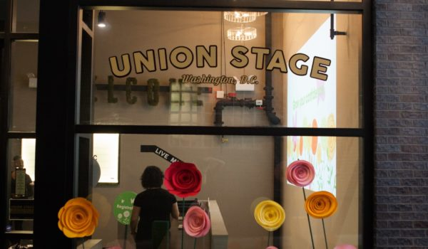 The exterior of the venue - Union Stage in Washington, DC