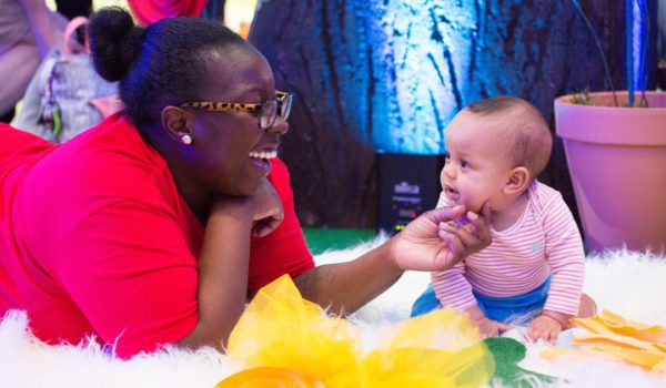 Playtime in the Infant Sensory area