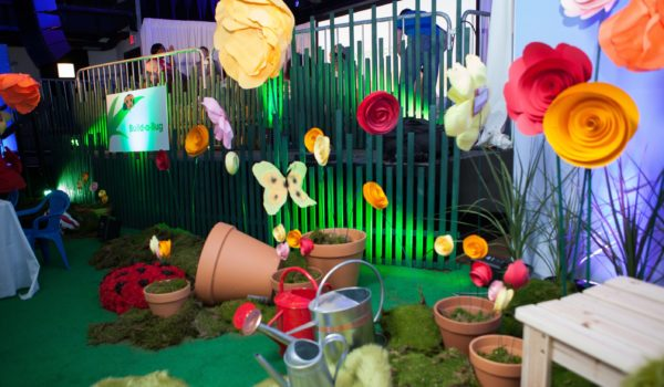 Montage conceptualized a springtime wonderland for attendees to enjoy