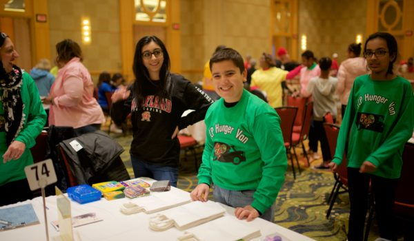 Volunteer activities were accessible to all ages