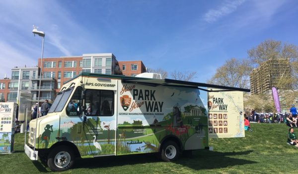 Montage Marketing designed, produced and launched a mobile visitors center for the National Park Service