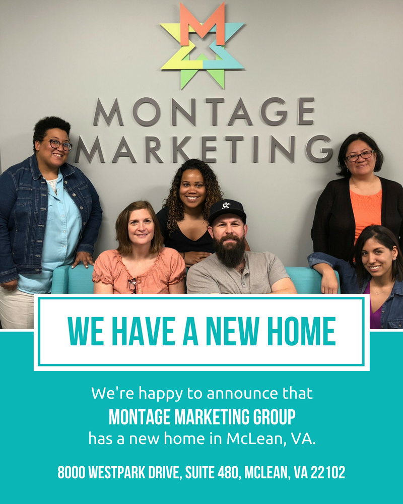 We're happy to announce that Montage has a new home in McLean, VA.
