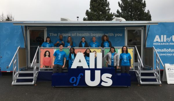 A 40-foot mobile exhibit is currently touring the country in an effort to improve health outcomes for 1 million Americans