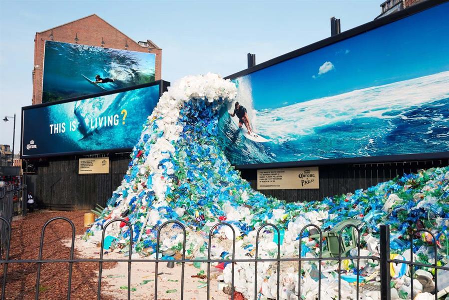Corona Wave of Waste