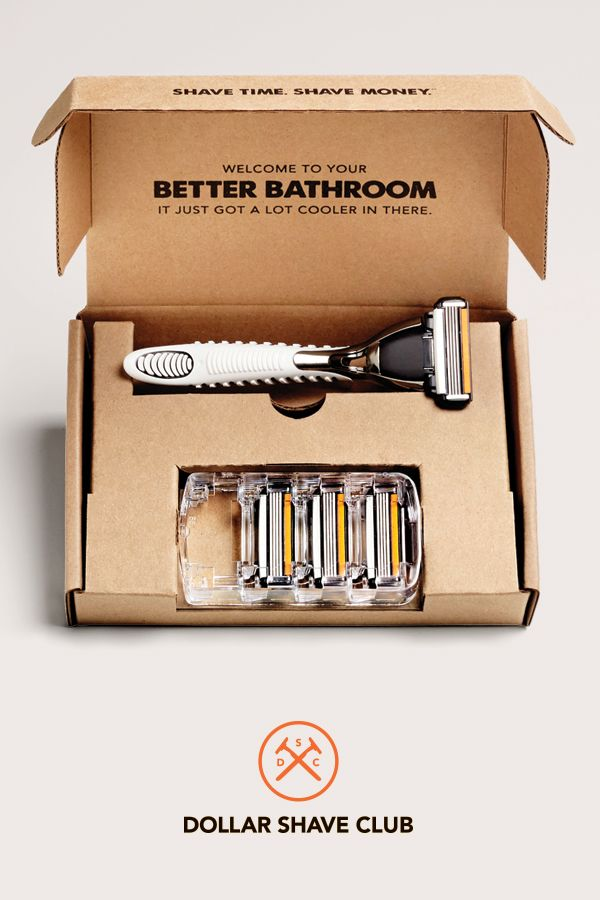 In 2016, Unilever acquired Dollar Shave Club at a price of $1 billion. Image credit: Dollar Shave Club