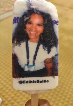 Edible selfies at Experiential Marketing Summit 2019